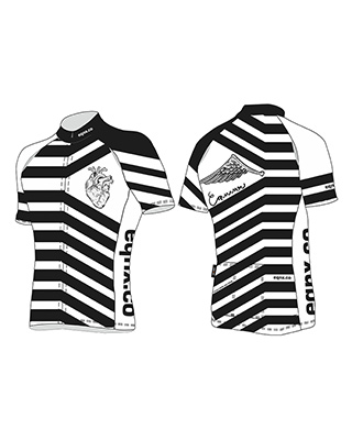 "Cycling jersey ""stripe"""